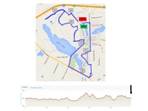 10k map and elevation